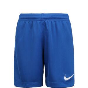 Dry League Knit II Trainingsshort Kinder, blau / weiß, zoom bei OUTFITTER Online