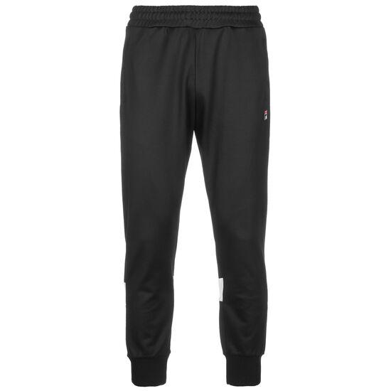 Tahir Track Jogginghose Herren, schwarz / weiß, zoom bei OUTFITTER Online