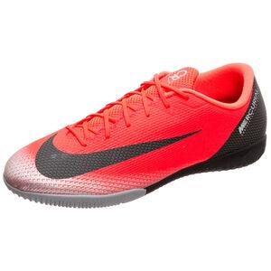 Mercurial VaporX XII Academy CR7 Indoor Fußballschuh Herren, neonrot / schwarz, zoom bei OUTFITTER Online