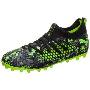 Future 19.3 NETFIT MG Fußballschuh Herren, schwarz / grün, zoom bei OUTFITTER Online