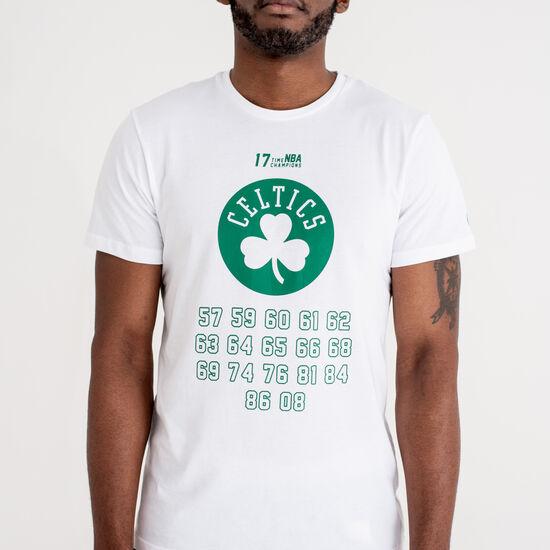 NBA Team Champion Crew Boston Celtics Herrenshirt, weiß / grün, zoom bei OUTFITTER Online