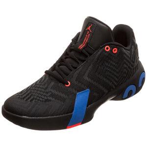 Jordan Ultra.Fly 3 Low Basketballschuh Herren, schwarz / blau, zoom bei OUTFITTER Online