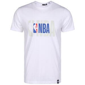 NBA Logo T-Shirt Herren, weiß / blau, zoom bei OUTFITTER Online