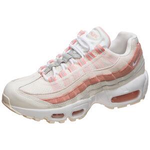 Air Max 95 Sneaker Damen, weiß / rosa, zoom bei OUTFITTER Online