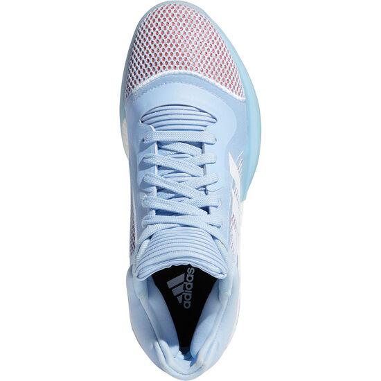 Marquee Boost Low Basketballschuhe Herren, blau / korall, zoom bei OUTFITTER Online