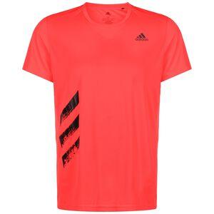 Run It 3-Stripes Laufshirt Herren, rot, zoom bei OUTFITTER Online