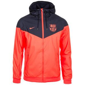 FC Barcelona Windrunner Kapuzenjacke Herren, Orange, zoom bei OUTFITTER Online