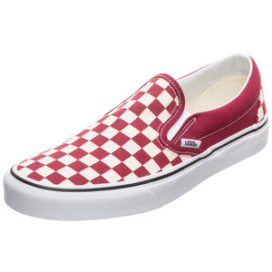 Classic Slip-On Sneaker, rot / weiß, zoom bei OUTFITTER Online