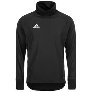 Condivo 18 Warm Top Player Focus Sweatshirt Herren, schwarz / weiß, zoom bei OUTFITTER Online