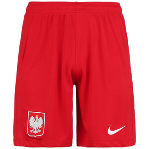 Polen Shorts Home/Away Stadium EM 2021 Herren, rot / weiß, zoom bei OUTFITTER Online