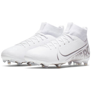 Mercurial Superfly 7 Academy MG Fußballschuh Kinder, weiß / silber, zoom bei OUTFITTER Online