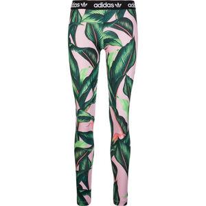 Tight Leggings Damen, rosa / grün, zoom bei OUTFITTER Online