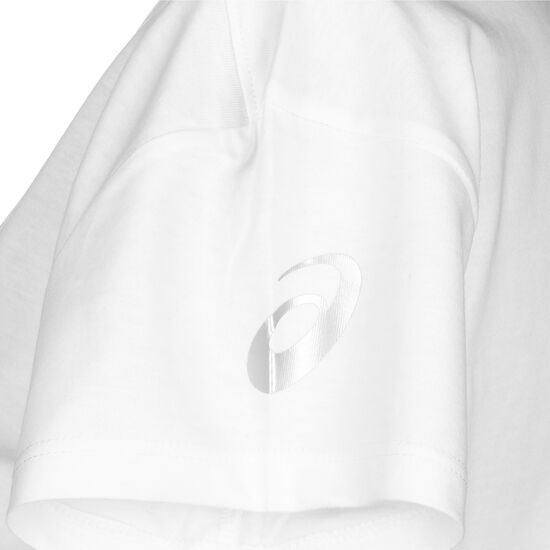 Tokyo Graphic Laufshirt Damen, weiß / rot, zoom bei OUTFITTER Online