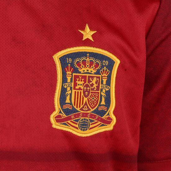 FEF Spanien Trikot Home EM 2020 Kinder, rot / gelb, zoom bei OUTFITTER Online