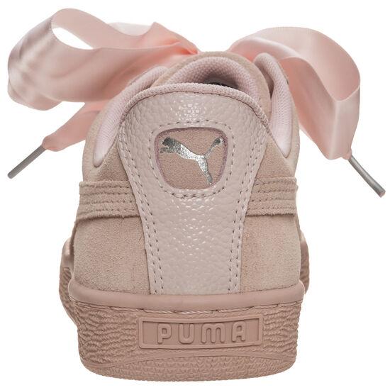 Suede Heart Bubble Sneaker Damen, Pink, zoom bei OUTFITTER Online