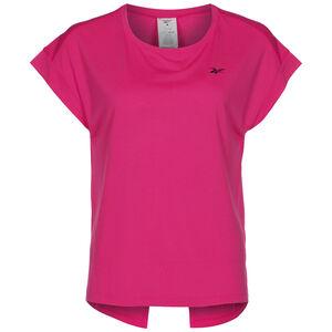 Workout Ready Supremium Detail Trainingsshirt Damen, pink, zoom bei OUTFITTER Online