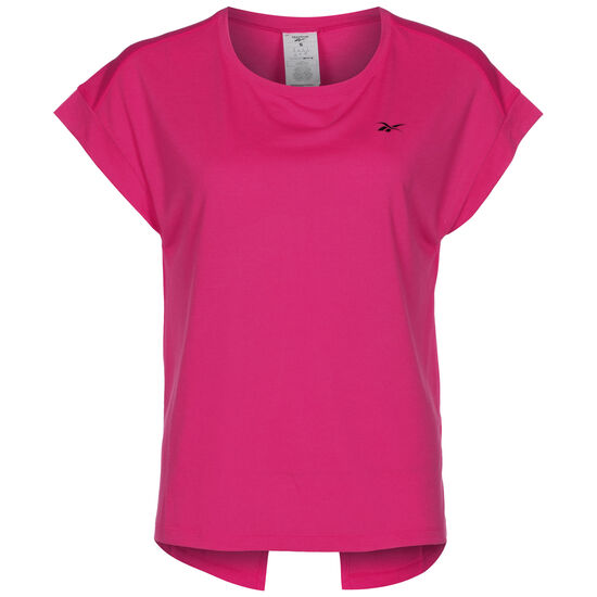 Workout Ready Supremium Detail Trainingsshirt Damen, pink, zoom bei OUTFITTER Online