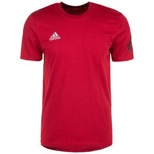 Tango Logo T-Shirt Herren, rot / schwarz, zoom bei OUTFITTER Online