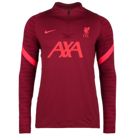 FC Liverpool Strike Drill Trainingssweat Herren, dunkelrot / neonrot, zoom bei OUTFITTER Online