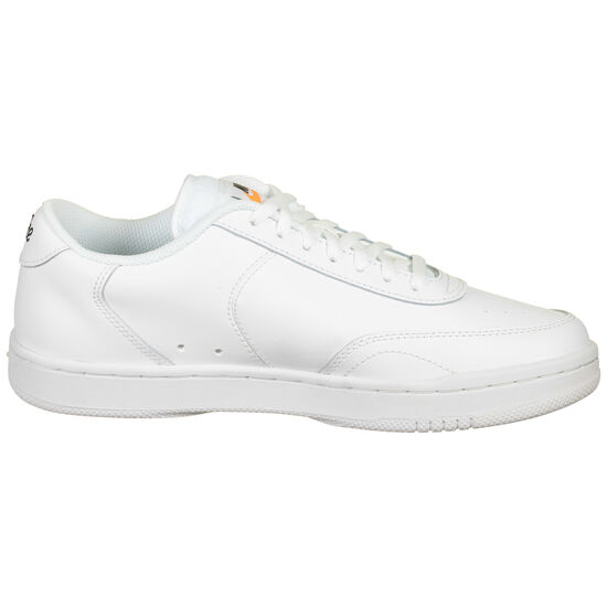 Court Vintage Sneaker Damen, weiß / orange, zoom bei OUTFITTER Online