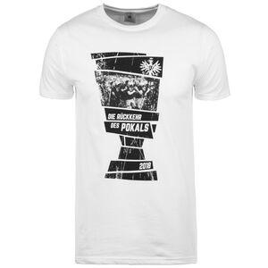 Frankfurt DFB-Pokal Sieger 2018 T-Shirt Herren, Weiß, zoom bei OUTFITTER Online