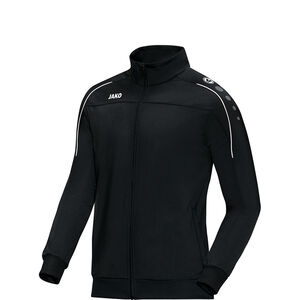 Classico Polyester Trainingsjacke Kinder, schwarz / weiß, zoom bei OUTFITTER Online
