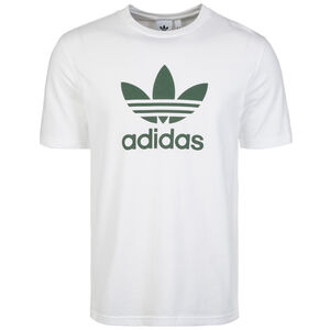 Trefoil T-Shirt Herren, weiß / grün, zoom bei OUTFITTER Online