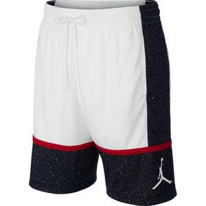 Jumpman Graphic Basketballshort Herren, weiß / schwarz, zoom bei OUTFITTER Online