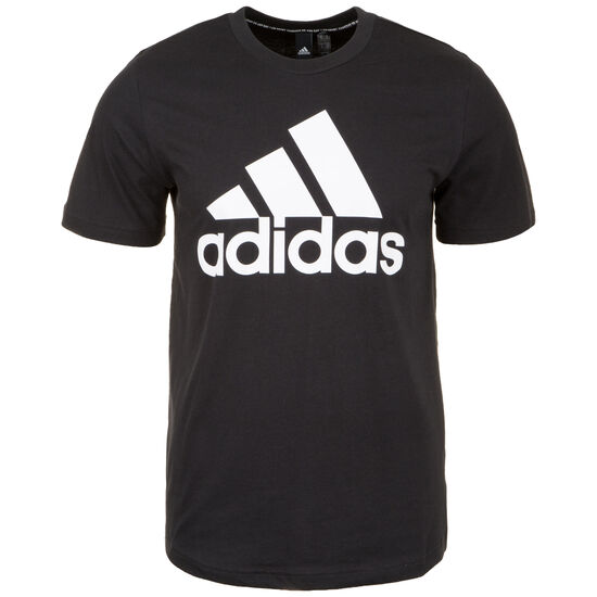 Must Haves Badge of Sport T-Shirt Herren, schwarz, zoom bei OUTFITTER Online