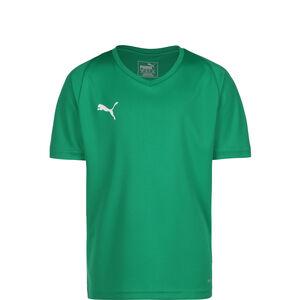 Liga Core Fußballtrikot Kinder, grün / weiß, zoom bei OUTFITTER Online