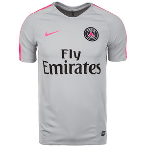 Paris St.-Germain Dry Squad Trainingsshirt Herren, Grau, zoom bei OUTFITTER Online