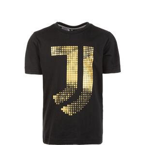 Juventus Turin Graphic T-Shirt Kinder, schwarz / gold, zoom bei OUTFITTER Online
