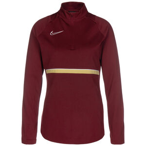 Academy 21 Dry Drill Longsleeve Damen, rot / gold, zoom bei OUTFITTER Online
