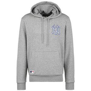 MLB New York Yankees Chain Stitch Kapuzenpullover Herren, grau, zoom bei OUTFITTER Online