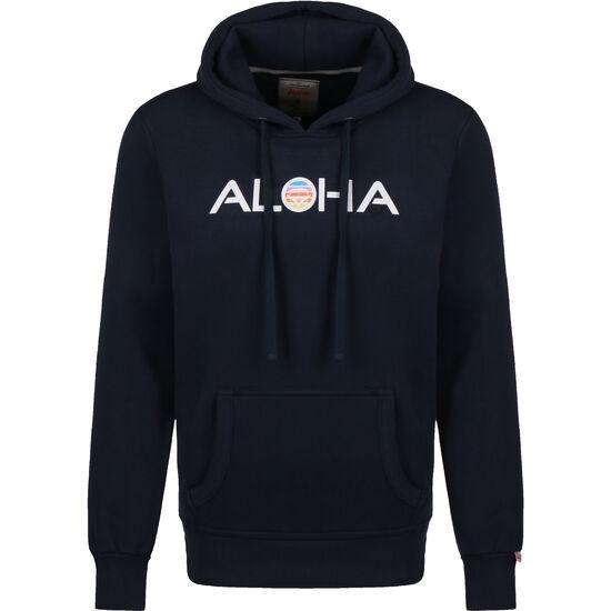 Aloha Retro VW Bulli Kapuzenpullover Herren, dunkelblau, zoom bei OUTFITTER Online