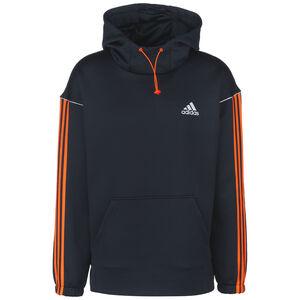 Intuitive Warmth Trainingskapuzenpullover Herren, dunkelblau / orange, zoom bei OUTFITTER Online