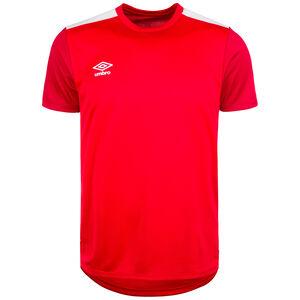 Poly Trainingsshirt Herren, rot / dunkelrot, zoom bei OUTFITTER Online