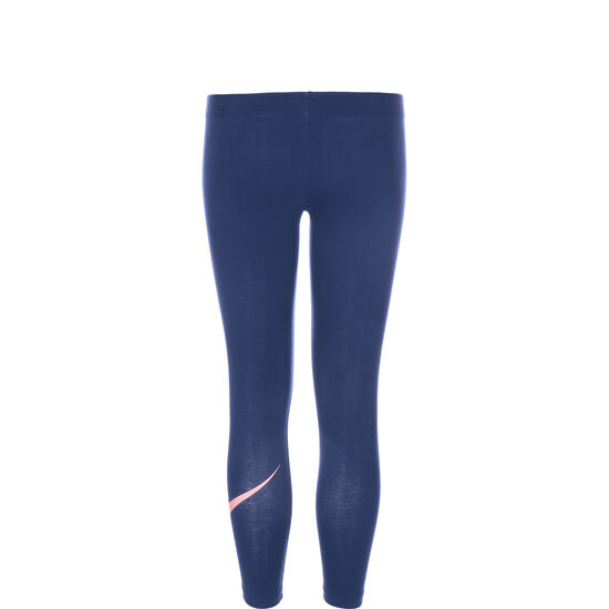 Favorites Swoosh Leggings Kinder, blau / rosa, zoom bei OUTFITTER Online