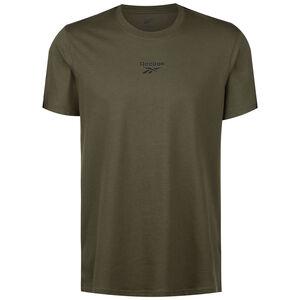 Essentials Tape T-Shirt Herren, oliv, zoom bei OUTFITTER Online