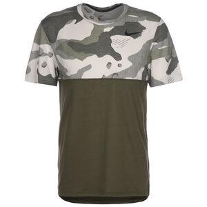 Hyper Dry Camo Trainingsshirt Herren, oliv, zoom bei OUTFITTER Online