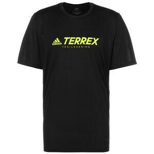 TERREX Primeblue Trail Laufshirt Herren, schwarz / gelb, zoom bei OUTFITTER Online