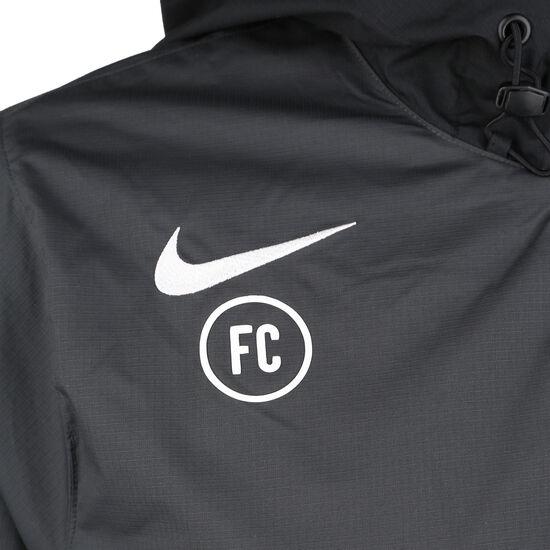 F.C. Track Kapuzenjacke Herren, anthrazit / schwarz, zoom bei OUTFITTER Online