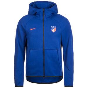 Atletico Madrid Tech Fleece Kapuzenjacke Herren, blau / rot, zoom bei OUTFITTER Online