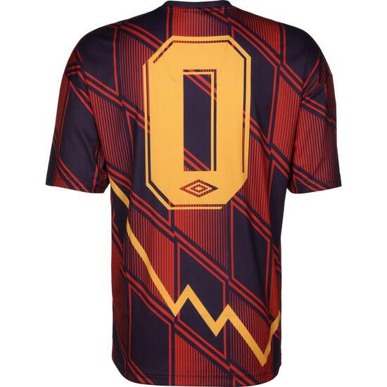Flatline Fußballtrikot Herren, rot / lila, zoom bei OUTFITTER Online