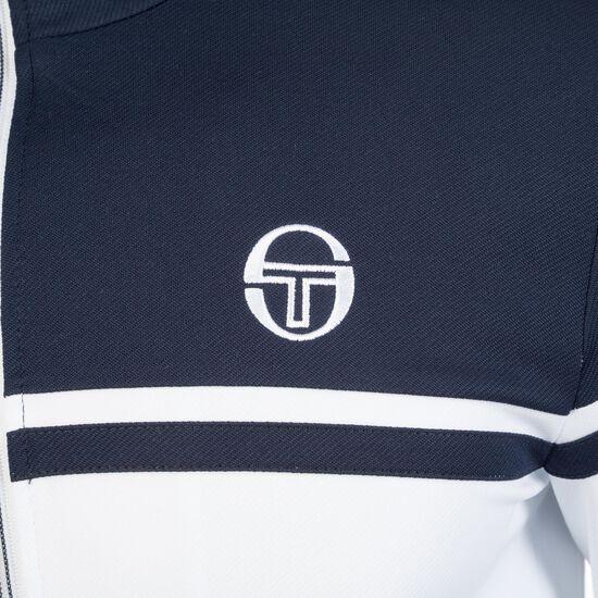 Young Line Pro Tracktop Jacke Herren, weiß / dunkelblau, zoom bei OUTFITTER Online