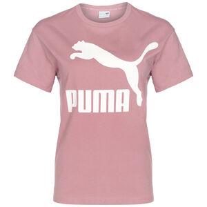 Classics Logo T-Shirt Damen, mint / flieder, zoom bei OUTFITTER Online
