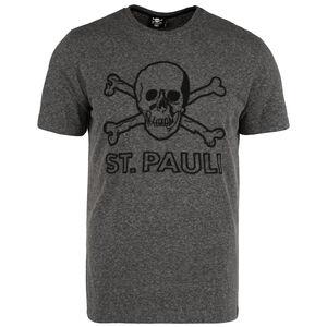 Terry Outline T-Shirt Herren, dunkelgrau / schwarz, zoom bei OUTFITTER Online