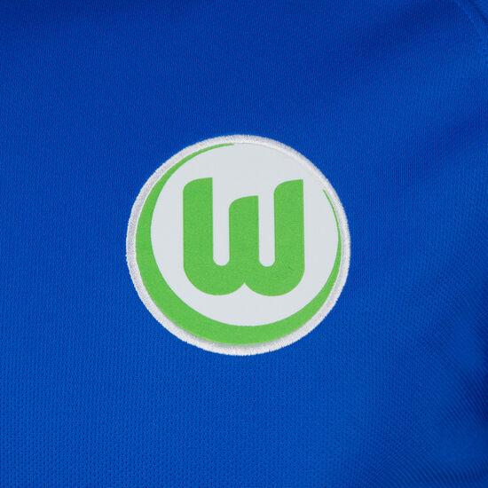 VfL Wolfsburg Trikot Away Stadium 2017/2018 Herren, Blau, zoom bei OUTFITTER Online