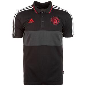 Manchester United Poloshirt Herren, schwarz / grau, zoom bei OUTFITTER Online
