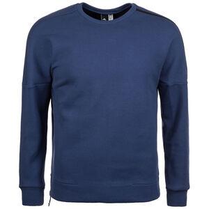 Z.N.E. Quarter Zip Crew Sweatshirt Herren, Blau, zoom bei OUTFITTER Online